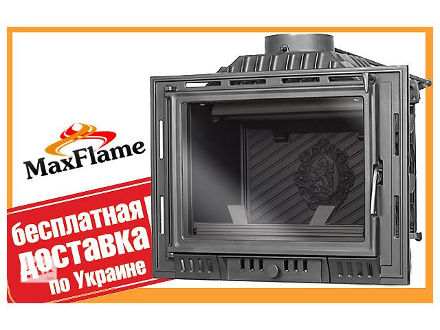 продам Чавунна камінна топка KAW MET W6 14 кВт +безкоштовна доставка! бу в Львові
