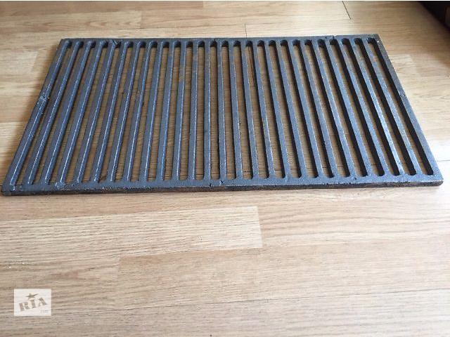 Чугунная решетка гриль для барбекю и мангала. Размеры 63.2 см х 36.5 см.- объявление о продаже  в Киеве