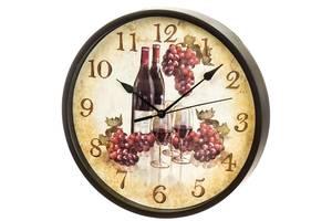 Часы настенные Veronese Вино 25 см 12003-008