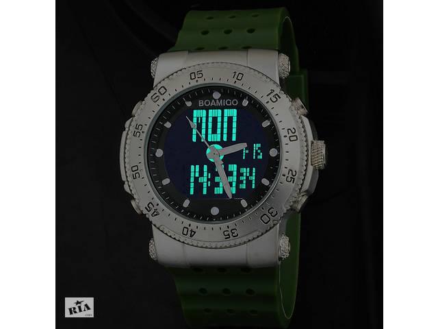 продам Крутые мужские наручные часы BOAMIGO BLACK F-512 бу в Кривом Роге