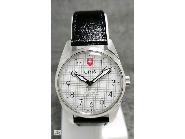 бу Мужские механические винтажные часы Oris швейцарские 80s WW 38 мм в Киеве