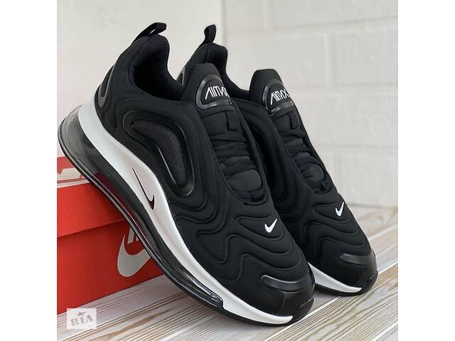 3007 Nike 720 черные кроссовки найк аир макс кеды кросовки