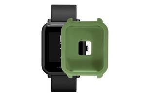 Amazfit Bip Защитный силиконовый чехол для смарт часов, Green