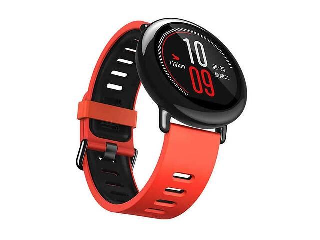 Amazfit Pace / Stratos / Stratos 2 Ремешок Red with black для смарт часов, ширина - 22 мм.- объявление о продаже  в Запорожье