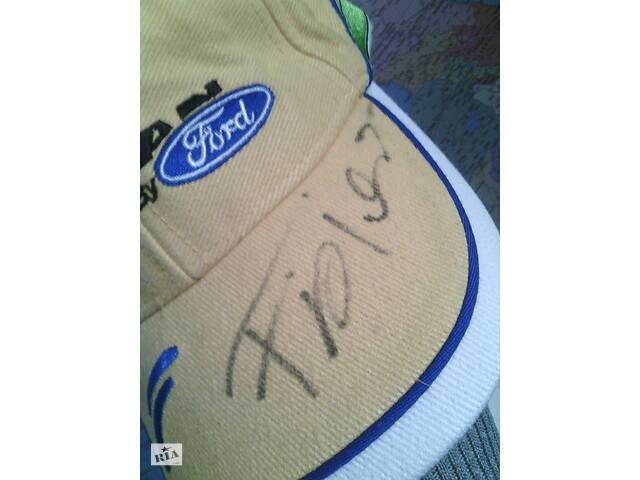 продам Автограф гонщика Giancarlo Fisichella на его кепке. бу в Житомире