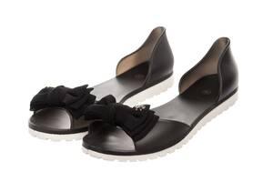 Балетки жіночі Rubbe black 40 (728940)