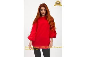 Блуза женская 119R0405 цвет Красный