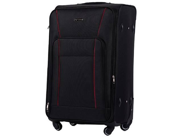 Большой чемодан тканевый Wings черный на 90л- объявление о продаже  в Киеве