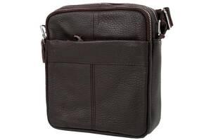 Борсетка ETERNO Кожаная мужская борсетка-сумка ETERNO 4DET4011-10