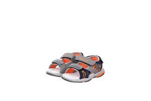 Босоножки TOM.M 21 Серый с оранжевым (C-T55-70-B-2915900076728)