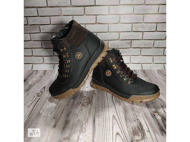 бу Ботинки кожаные зимние подростковые в Мелитополе