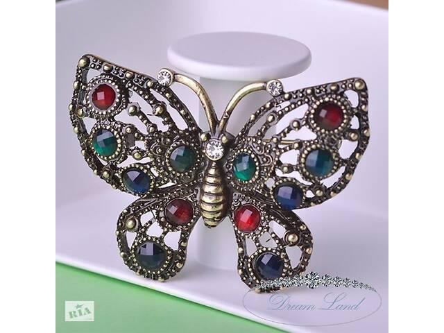 """Брошь с камнями женская """"Butterfly""""- объявление о продаже  в Червонограде"""