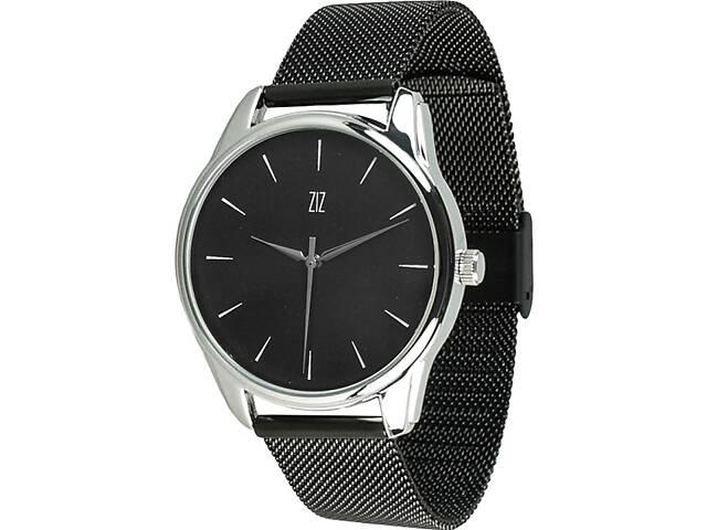 """продам Часы """"Белым по черному"""" (ремешок из нержавеющей стали черный) + дополнительный ремешок (5016489) бу в Мелитополе"""