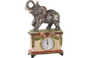 Часы кварцевые настольные Lefard Слон