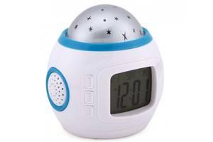 Часы с будильником и проектором звездного неба UKC 1038 (200641)