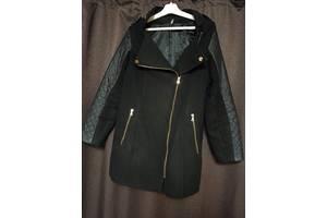 Черное весеннее пальто 48