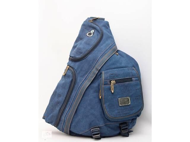 Чоловічий повсякденний міський рюкзак через плече на одну лямку  Gold Be / GoldBe- объявление о продаже  в Днепре (Днепропетровск)