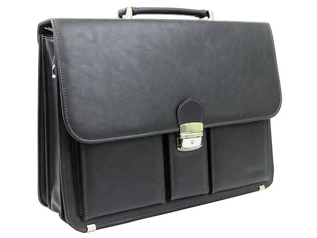 Деловой портфель из искусственной кожи Verto A10AA1 Серый