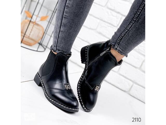 купить бу Демисезонные женские ботинки, ботинки женские, жіночі ботінки, черевики 36-40р код 2110 в Ровно