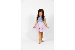 Детская фиолетовая фатиновая юбка на резинке Cat & Jack XS(4/5), S(6/6X)