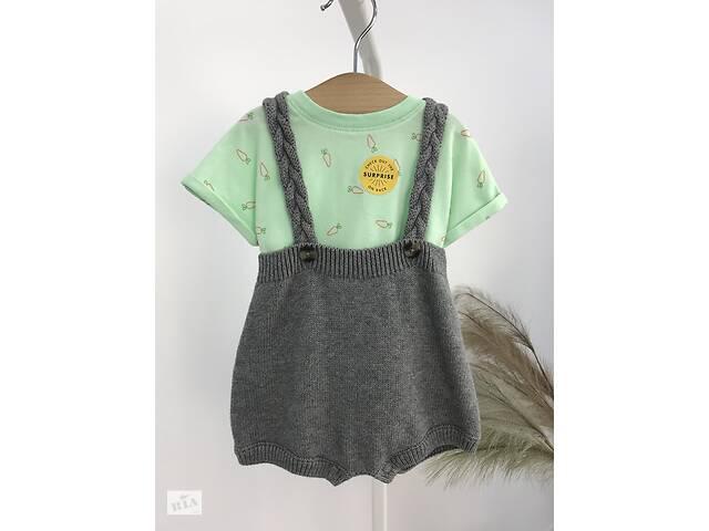 продам Детский костюм трикотажный комбинезон + боди Cat & Jack бу в Ивано-Франковске