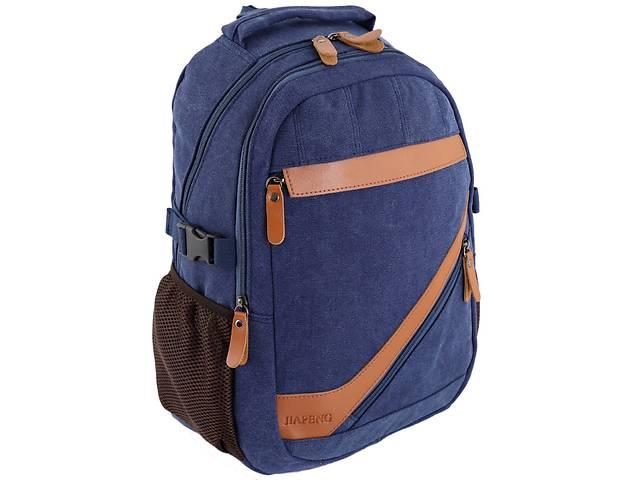 продам Дорожный рюкзак Jiapeng 7030-31, синий на 21 л из полиэстера бу в Киеве