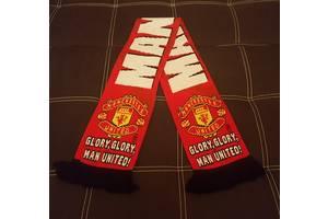 Фанатский шарф Manchester United