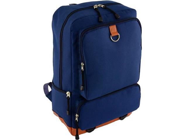 купить бу Городской  рюкзак Traum 7042-17, темно-синий на 19 л из полиэстера в Киеве
