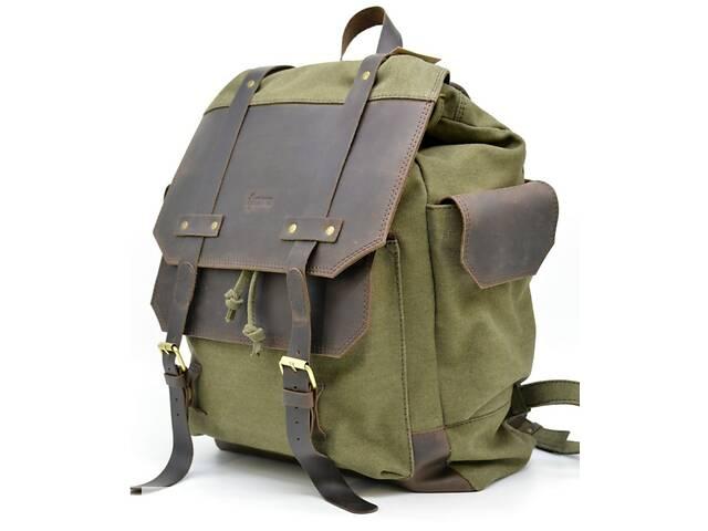 продам Городской рюкзак Урбан в комбинации ткань+кожа  TARWA  TRWRН-6680-4lx бу в Киеве