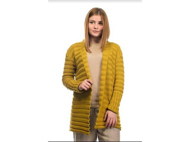 Кардиган SVTR S-M Гірчичний (490) - Жіночий одяг в Києві на RIA.com a458987bd778b