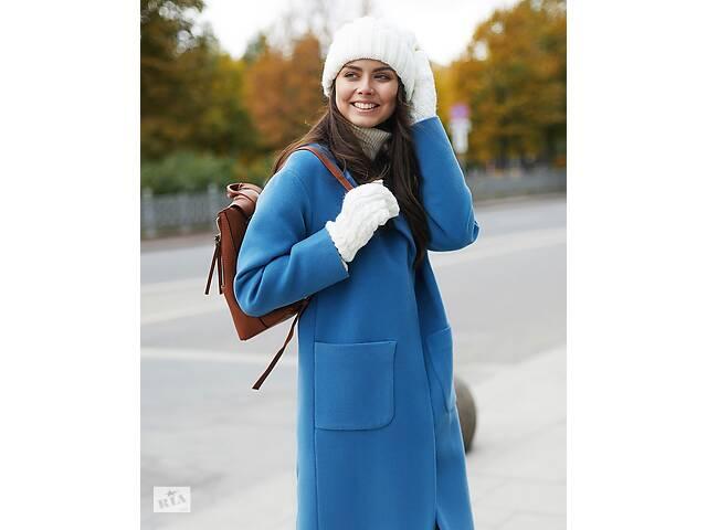 купить бу Кашемировое пальто-халат Blaine Maxi со спущенным плечом (All We Need) в Киеве