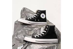 Кеди Converse All Star конверс олл старий високі чорні