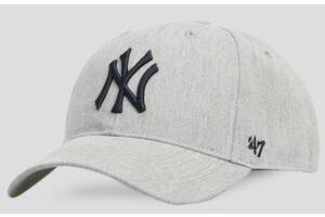 Кепка 47 Brand Yankees (B-PLMNM17KHS-GY)