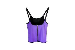 Корректирующая майка-корсет Vshape Trainer K3 с молнией Фиолетовый
