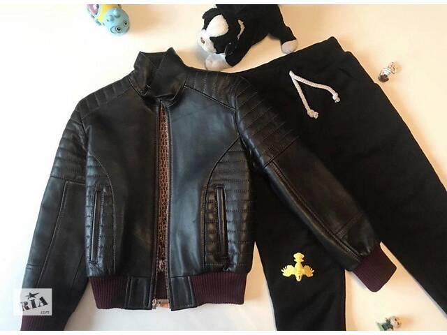 Кожаная куртка- объявление о продаже  в Киеве