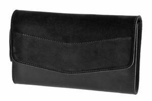 Шкіряна сумка Еліс BlankNote BN-BAG-7-g-velur графіт велюр