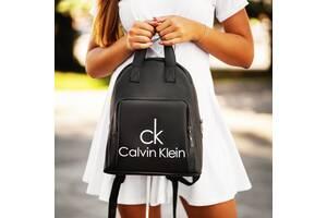 Кожаный рюкзак Calvin Klein black