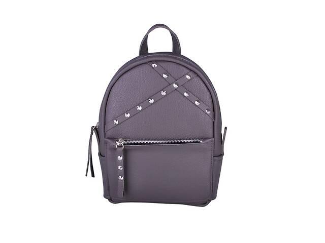 продам Кожаный женский рюкзак Sakura Dark серый JzzSA292310DG бу в Киеве