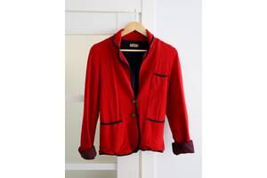 Красный пиджак Pull & Bear