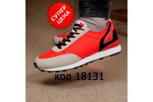 Кроссовки мужские Next (код:1813) красные и коричневые