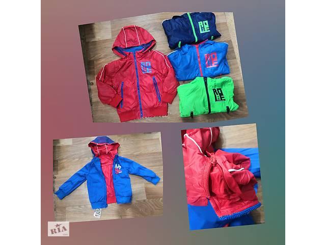 купить бу Куртка двухсторонняя на мальчиков, Glo-story в Виннице