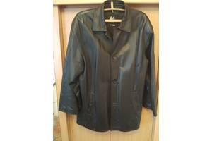 Куртка шкіряна, чорна