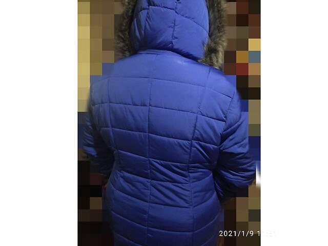 Куртка удлиненная с капишоном