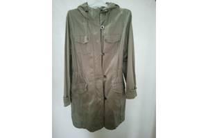 Куртка женская 46-48 размер, серо-зелёная, хлопок.