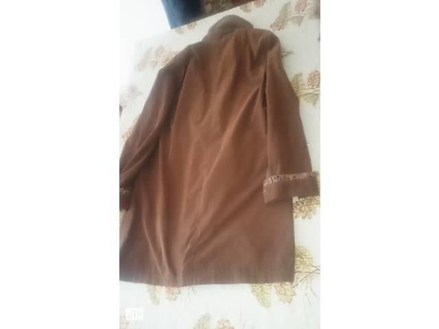 бу Куртка женская б/у в хорошем состоянии шоколадно-коричневая в Старой Синяве