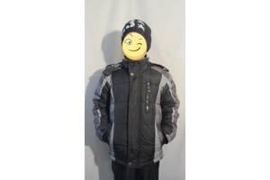 Курточка зимняя на мальчика 7-10 лет
