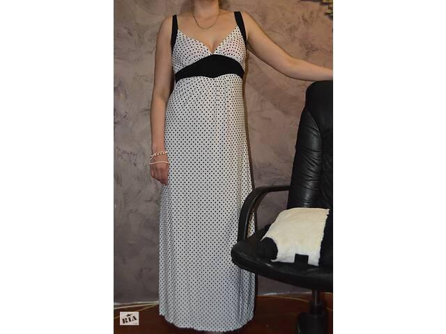 продам летнее платье или сарафан, новый - цвет ч\б в горох..стильный и модный бу в Харькове