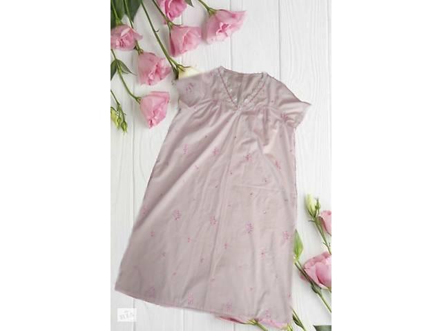 продам Marks&Spenser Красивая и нежная ночнушка розовая с кружевом и вышивкой UK16-18 бу в Чернигове