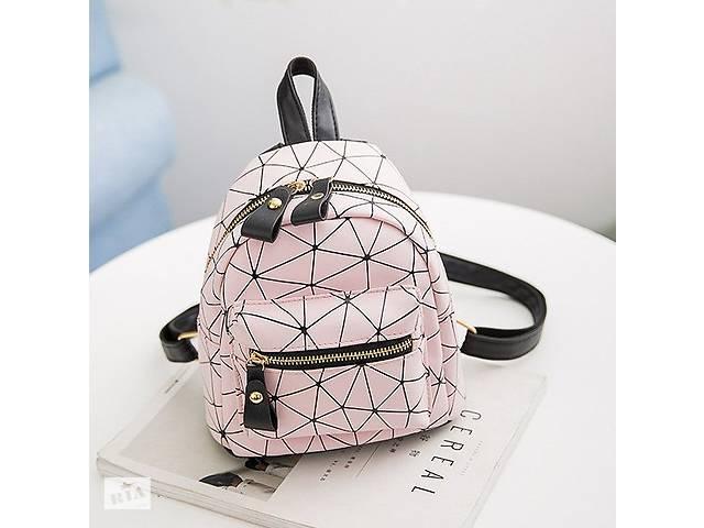 продам Модный женский маленький рюкзак Розовый бу в Днепре (Днепропетровск)