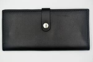 Мужское кожаное портмоне ROMIO (PKSBLBr-2020) Темно-коричневое
